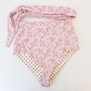 NWT Dippin Daisys Grace Floral Bikini Bottom